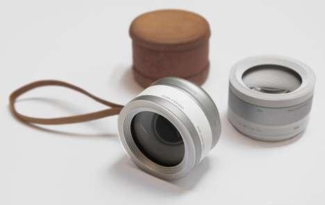 Eye-Operated Lenses