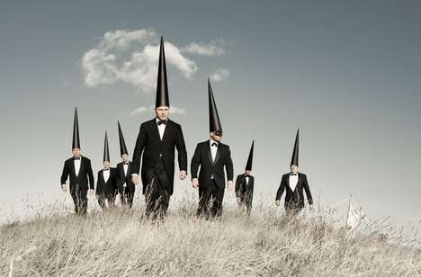 Peculiar Pointy Hat Captures - This Laurence Winram Series is Surreal and Curious