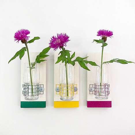 Geometric Flower Wall Furnishings