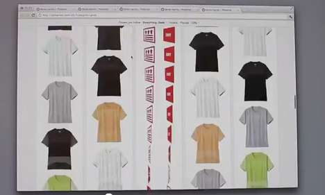 Pinterest-Hijacking Campaigns - UNIQLO Dry Mesh Project Wakes Up Social Pinboard Users