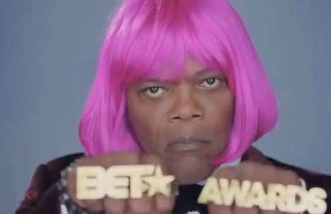 This BET Award Show Promo Features a Cross-Dressing Samuel L.