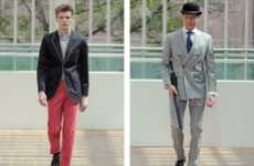 Great Gatsby Runways - The Hackett London Spring/Summer Collection Shows Contemporary Classics
