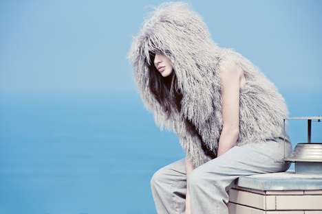 Chic Shaggy Captures - This Aloisio Brito is Series is Furry and Fabulous