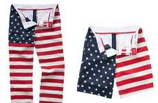 Explicit Americana Apparel - The Bonobos 'July 4TH' Flag Line Embraces Patriotic Style