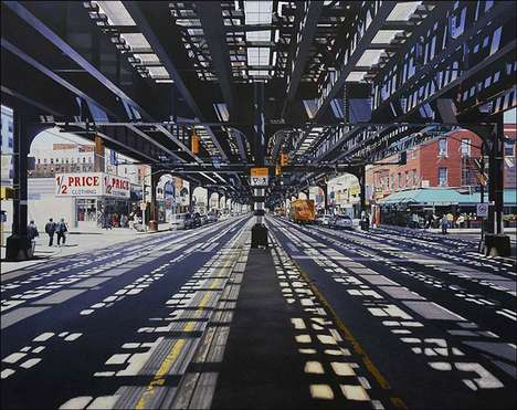 Ridiculously Realistic City Paintings - Nathan Walsh Paints with Stunning Precision