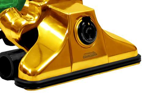 Solid Gold Hoovers - The GoVacuum GV62711 is the World's Most Expensive Dirt Picker Upper