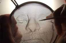 Detailed Colander Artwork