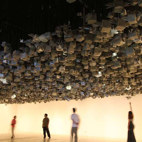 Interactive Origami Installations