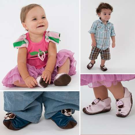 Kid-Friendly Footwear - The Shupeas Expandable Baby Shoe Fits Tots Between 3 and 20 Months