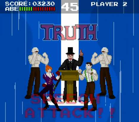 Retro Presidental Arcade Games - The 8-Bitham Lincoln: Vampire Hunter is Full of Action