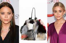 $17,000 Handbags - The Olsen Twins' Multi Patchwork Backpack is Posh