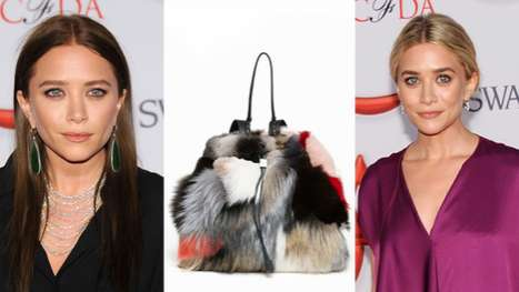 The Olsen Twins' Multi Patchwork Backpack is Posh