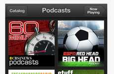 Digital Broadcast Apps - Apple Podscasts is a Dedicated Media Viewing Platform