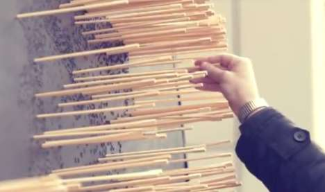 Chopstick Dragon Sculptures