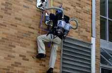 Vacuum-Powered Spiderman Suits - The Ascending Aggies Lets People Climb Walls