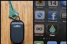 Clever Key Finding Apps - The Hone Keychain Navigates You to Your Lost Goods