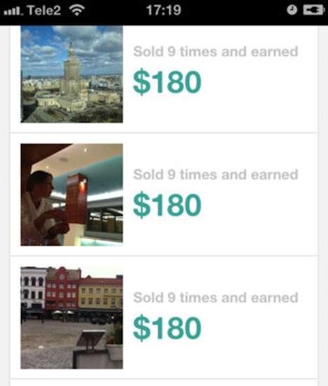 iPhone Photo Marketplaces