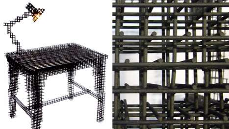 Wireframe Office Furniture