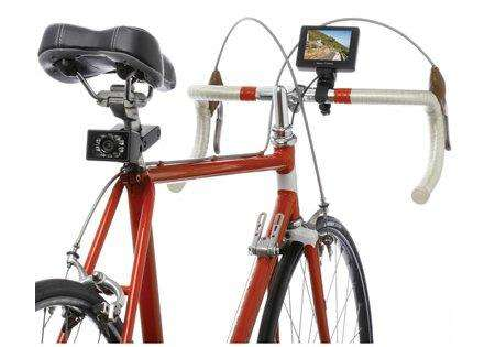 Cycling Safety Surveillance - The Bicycle Rearview Camera Increases Visibility and Safety