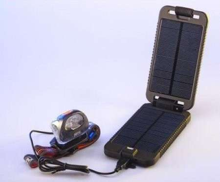 The Powertraveller Solarmonkey Adventurer Charges Gadgets On-The-Go