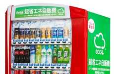 Eco-Friendly Drink Dispensers - The A011 Vending Machine Keeps Cool Power-Free During the Day