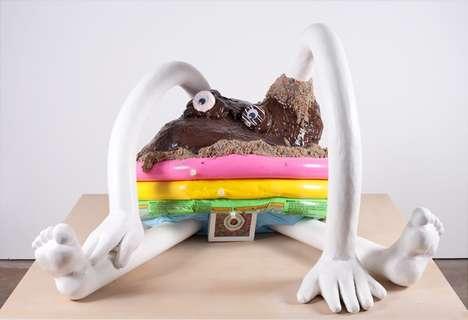 Decadent Donut Sculptures