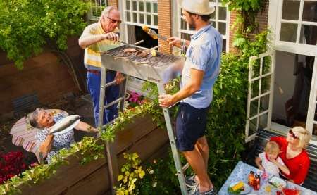 Neighbor-Friendly Grills - The 'Buurbeque' by Natwerk Makes Outdoor Cooking More Social
