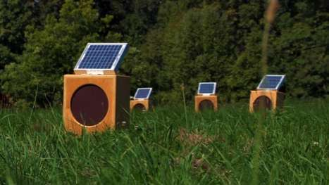 Solar-Powered Concerts - Sun Boxes by Craig Colorusso is a Sound Installation Powered by the Sun