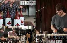 Beer Can-Created Anthems - The Molson 'Canadian National Canthem' Looks Forward to Canada Day