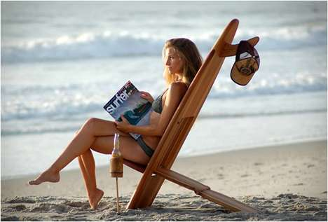 Catch a Wave with These Bombwatcher Surfboard Chairs
