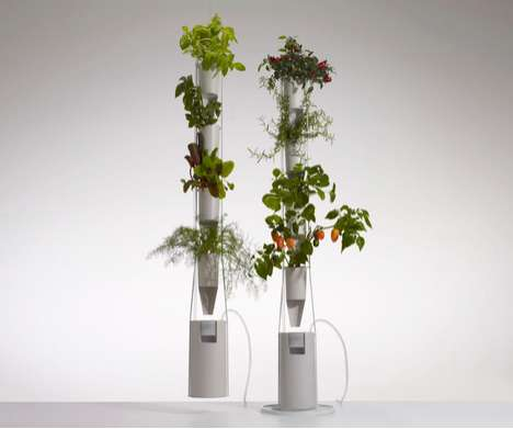 Indoor Vegetation Planters