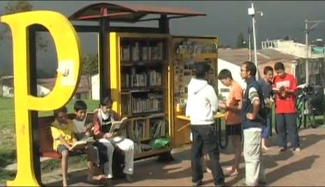 Mini Park Libraries - Fundalectura Creates PPP Program to Give Columbians Access to Books