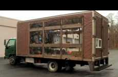 Mobile Greenhouse Automobiles - The CompassGreen Truck Aims to Spread Agricultural Awareness