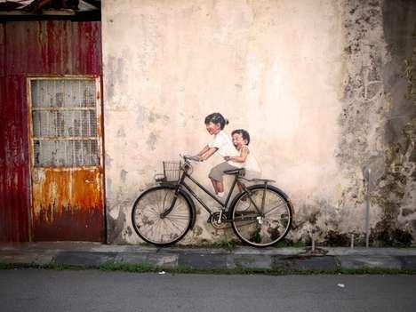 Imaginative Child Graffiti