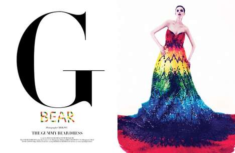 Gummy Bear Gowns - This Dress by Hissa Igarashi and Sayuri Marakumi is a Stylishly Sweet Frock