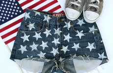 DIY Americana Gear - This Fashion Drug 'Star Shorts' Tutorial is Patriotic and Ready for Summer