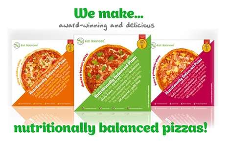 'Eat Balanced' Pizzas Boast Nutritional Value and Great Taste