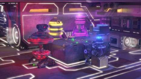 Three-Dimensional Droid Music Videos