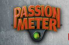 Screaming Soccer Fan Competitions - The McDonald's 'Passion Meter' Gauges Support for the Euro Cup