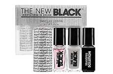 Geek-Chic Manicure Kits - The Typography Nail Polish Set is Text-Laden