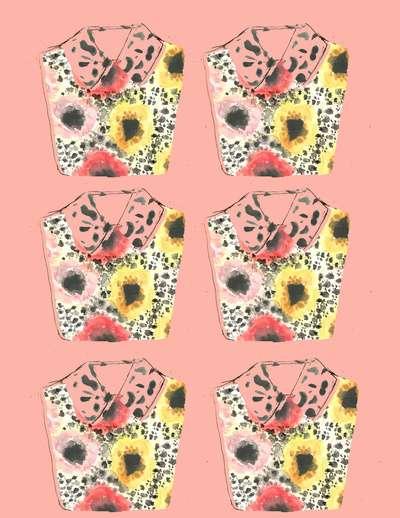 Kitschy Patterned Prints