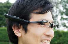 Wearable Display Glasses - The Olympus MEG 4.0 Glasses are Bluetooth Enabled