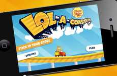 Lollipop Advergames - The Chupa Chup Lol-A-Coaster Game Takes You On an Exciting Ride