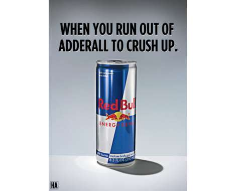31 Energetic Red Bull Depictions