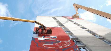 Sky-Scraping Mural Installments