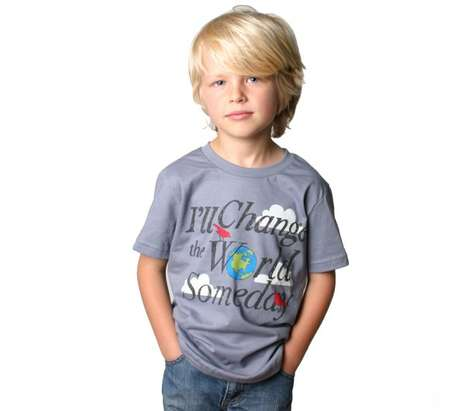 Principled Children's Fashion - Tiny Revolutionary Creates Kids Tees with Positive Messages