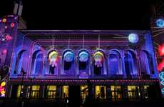 Fierce Luminous Facades - The Atlantic City Boardwalk Hall Light Show is Stellar