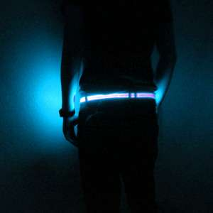 The Halo Belt Provides Fashionable Visibility in the Dark