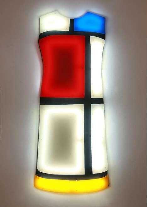 Fluorescent Electric Dresses