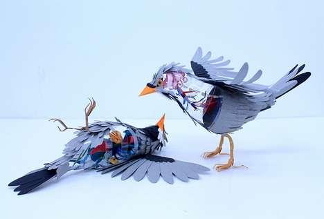 Introspective Avian Sculptures